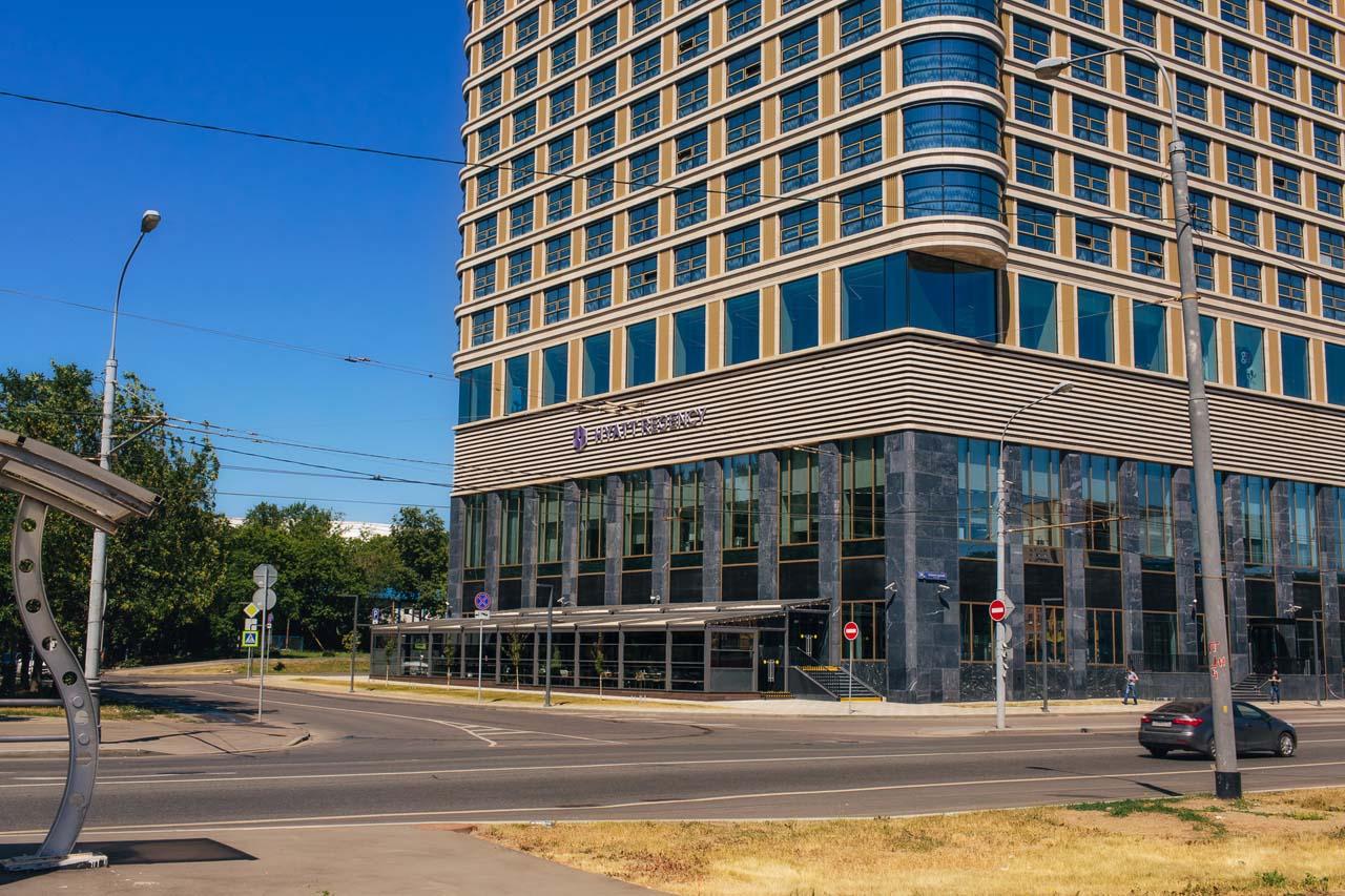 Терраса для ресторана HERITAGE в отеле HYATT REGENCY в Москве от TERRADECK