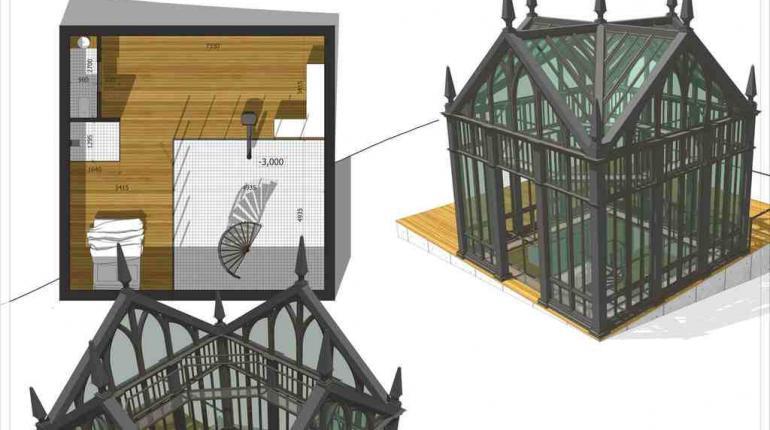 Проект частной резиденции в Подмосковье